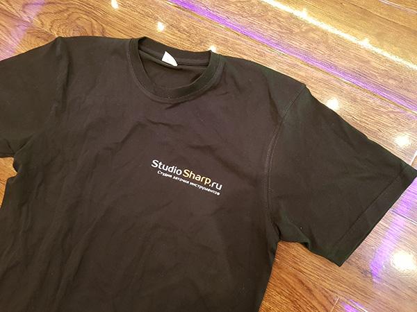 Принт на футболках на Таганской по лучшей цене Print.StudioSharp.ru
