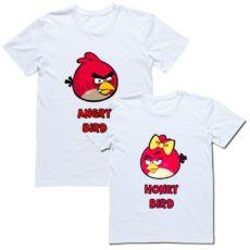 Парные футболки для двоих влюбленных и для друзей
