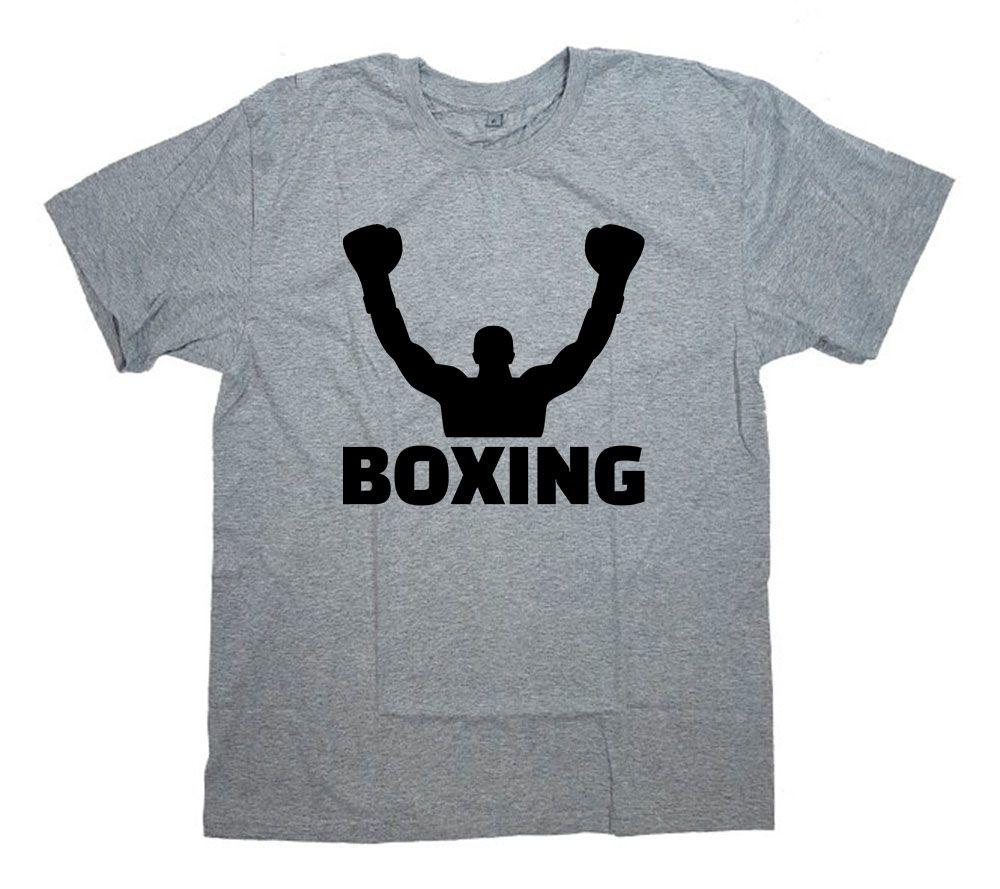 """Футболка с принтом и надписью """"Boxing(2)"""""""
