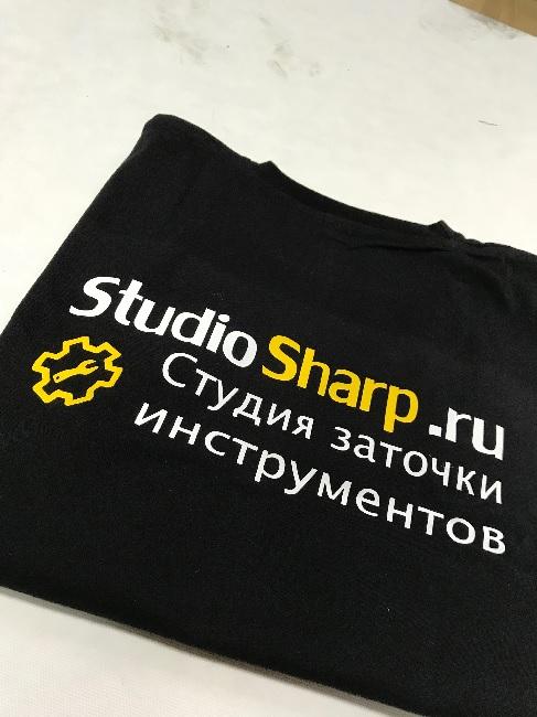 Срочная печать на футболках в Москве на Print.StudioSharp.ru