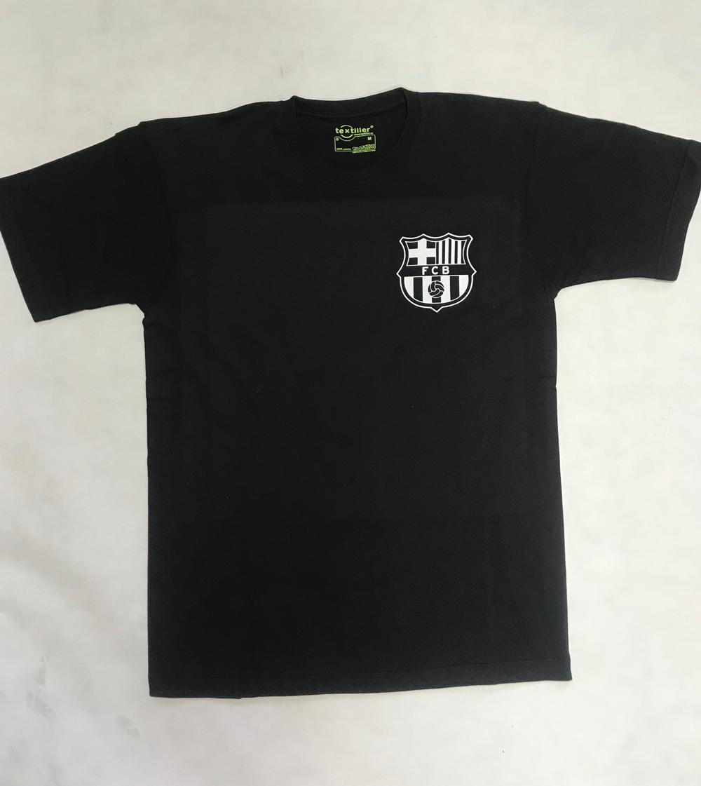 Печать на черных футболках по доступным ценам Print.StudioSharp.ru