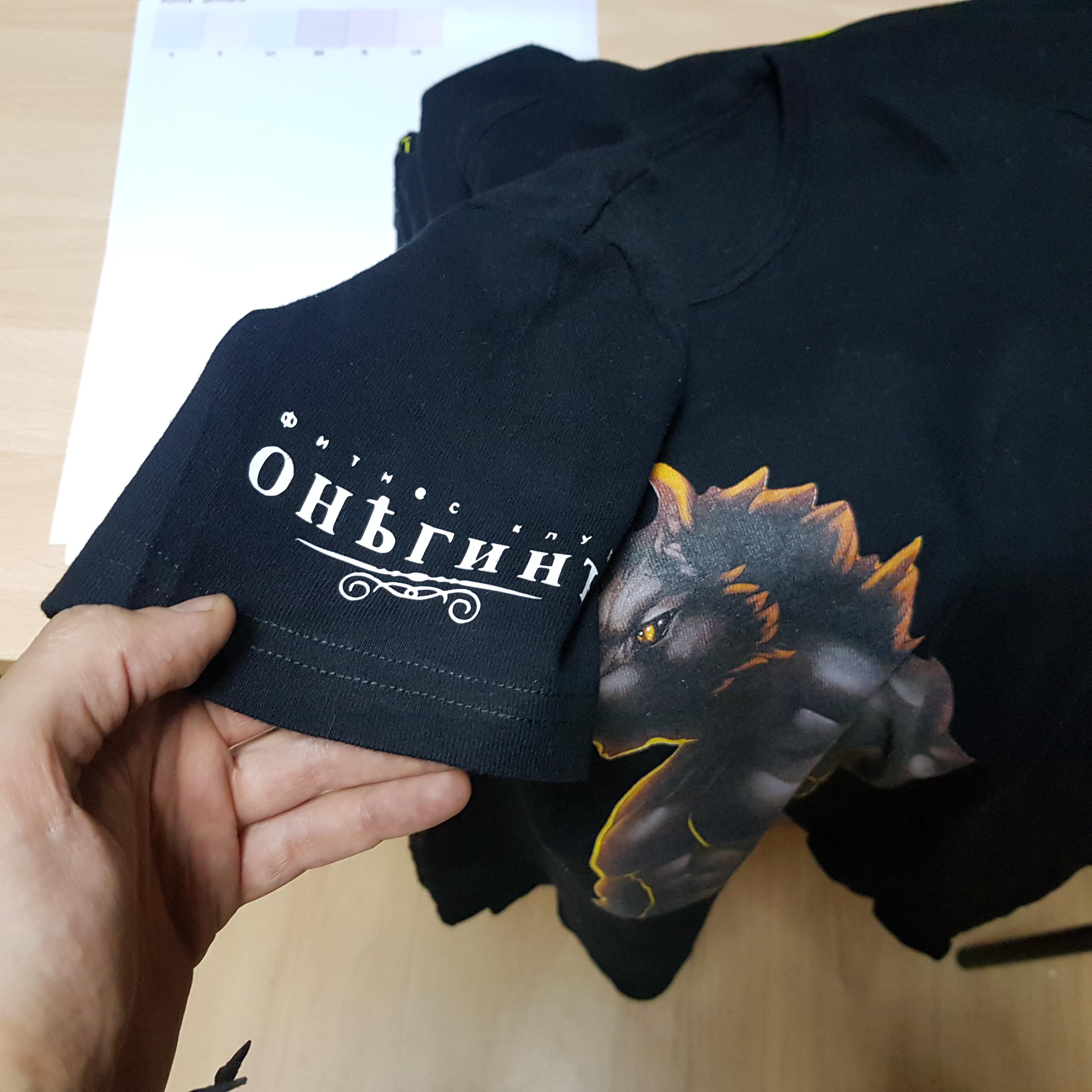 Печать на футболках в Москве на Таганской Print.StudioSharp.ru
