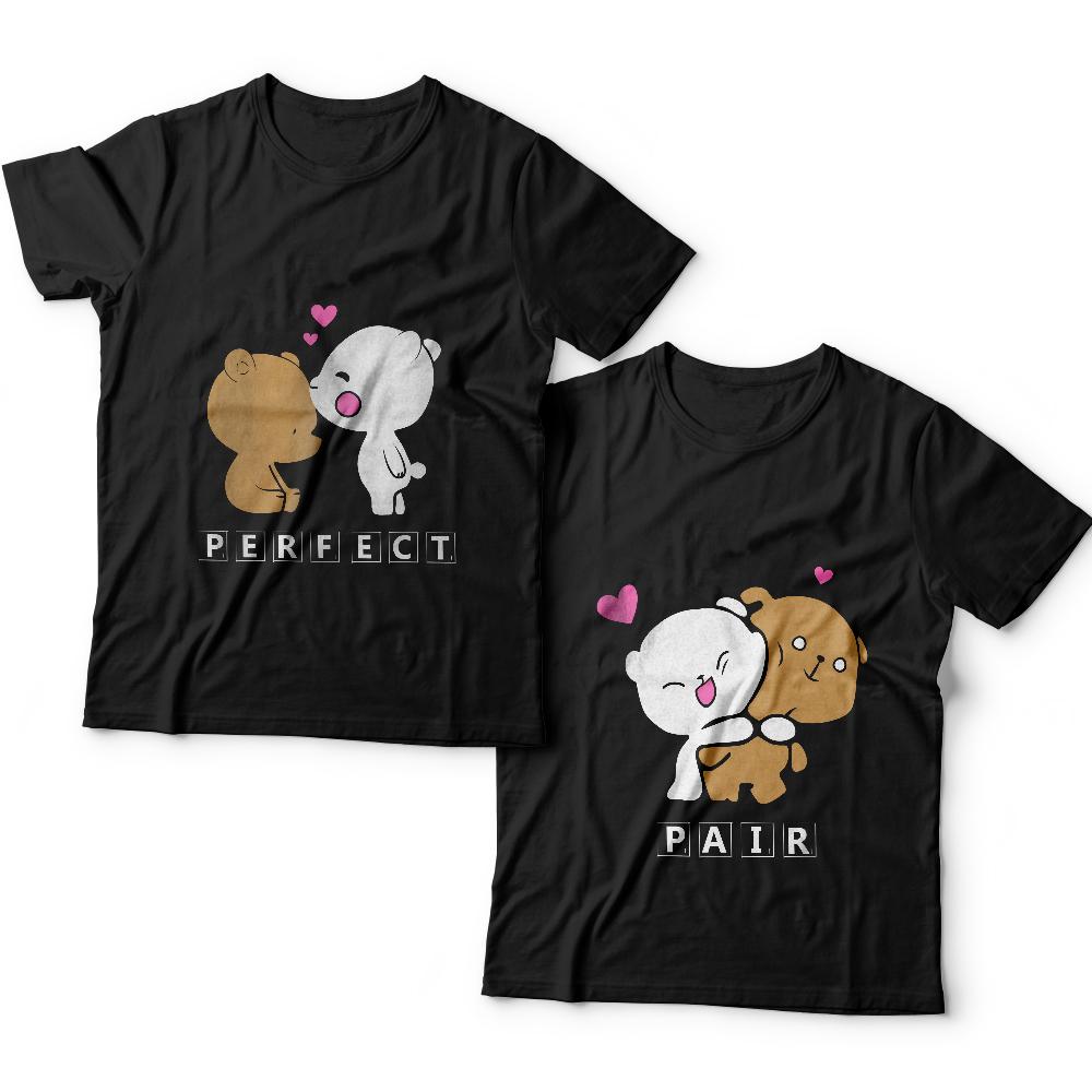 Парные футболки для влюбленных «Perfect pair»