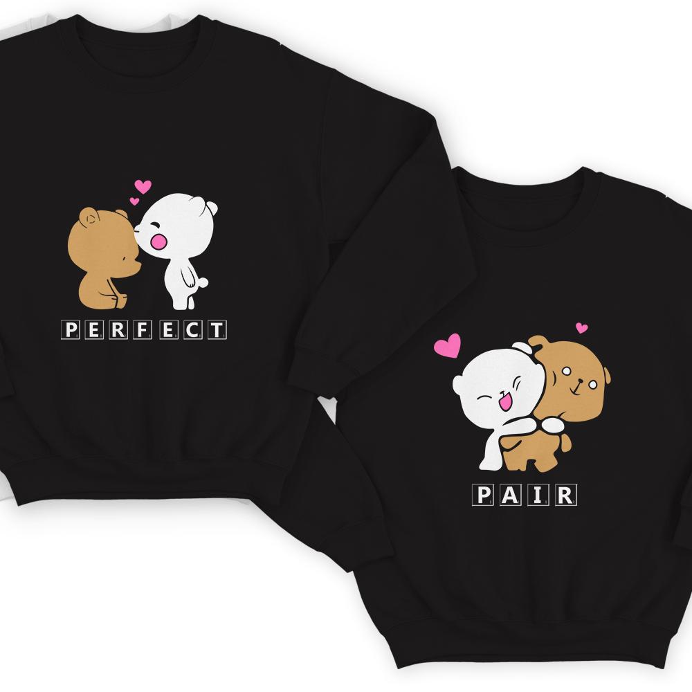 Парные свитшоты для влюбленных «Perfect pair»