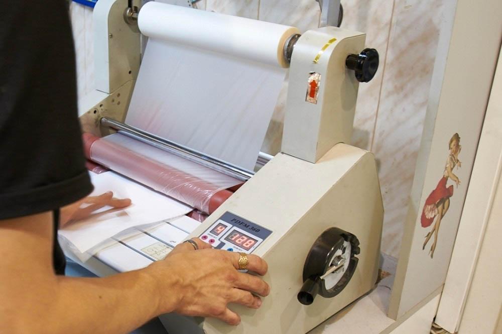 ламинирование бумаги а4
