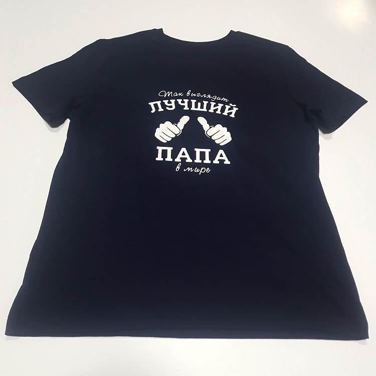 печать на футболках в москве