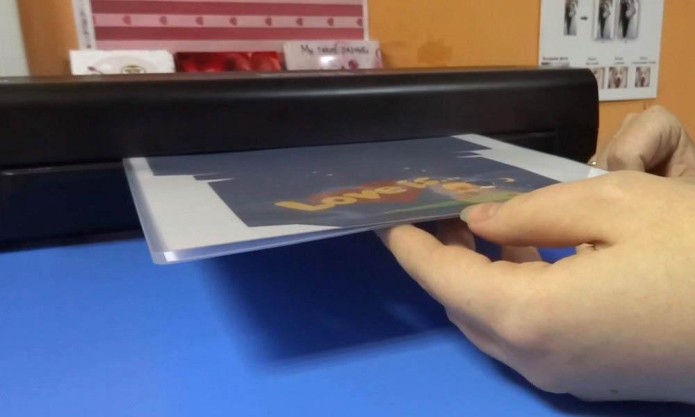 процесс ламинирования бумаги а4