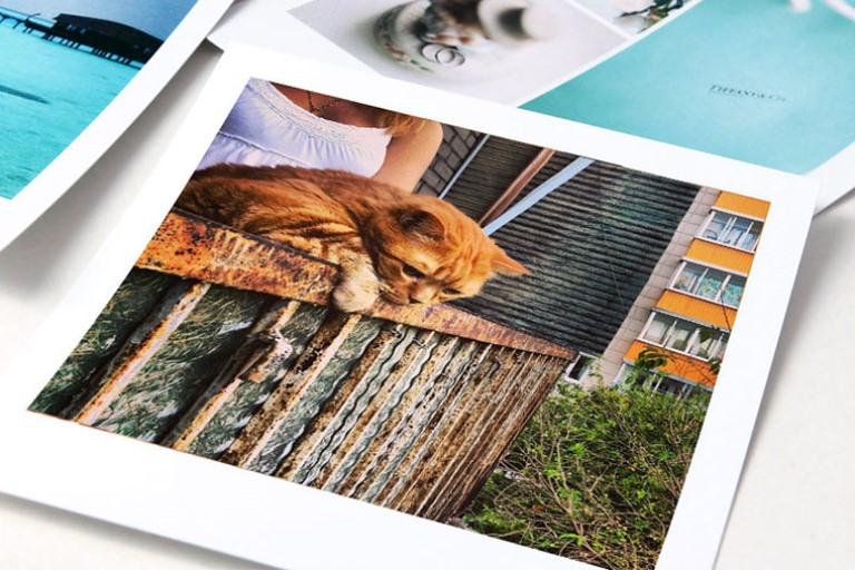 Печать фото в Москве недорого