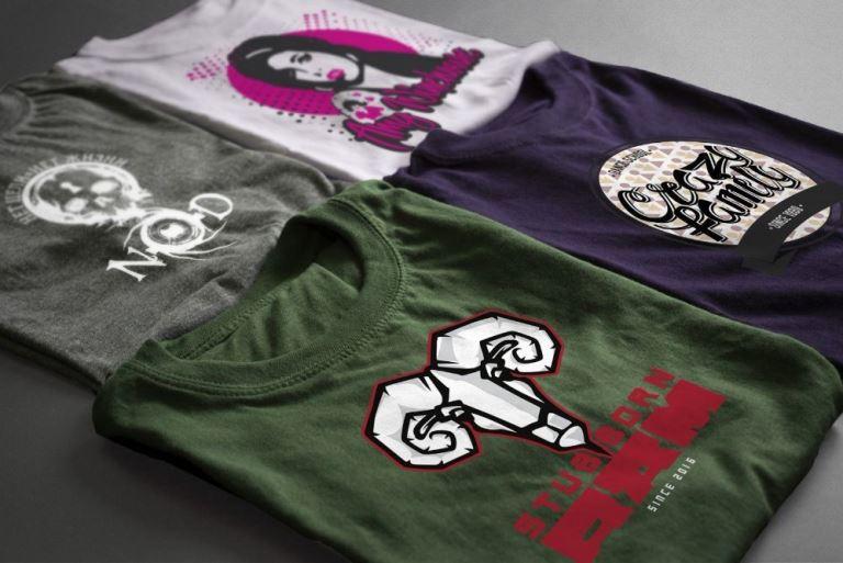 Печать на футболках в Москве недорого с доставкой