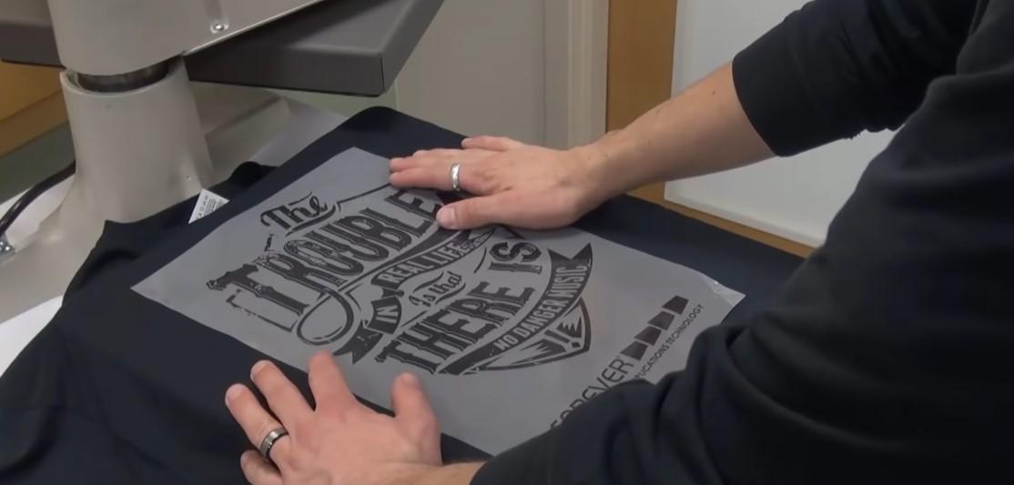 Нанесение логотипов на футболке в Москве | Print.StudioSharp.ru