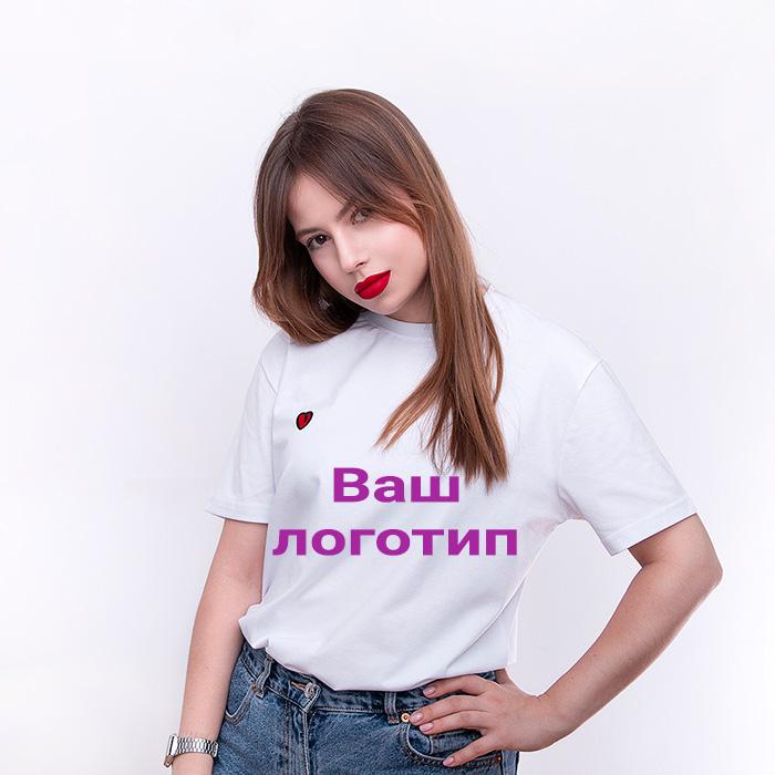 Футболки с логотипом на заказ от 790 руб. Print.StudioSharp.ru