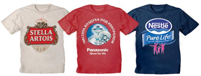 Напечатать логотип на футболках | Print.StudioSharp.ru