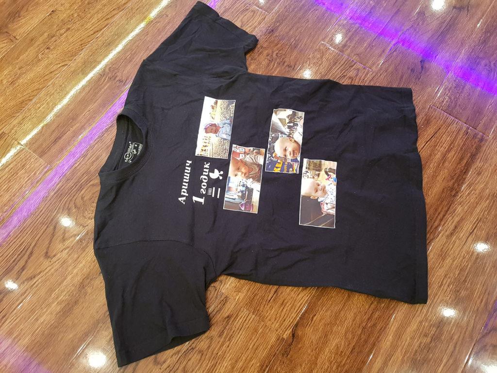 Печать логотипа на футболках недорого Print.StudioSharp.ru